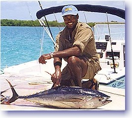 Turks and Caicos Yellofin Tuna with Arthur Dean